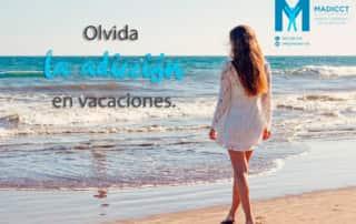 Olvida la adiccion en vacaciones