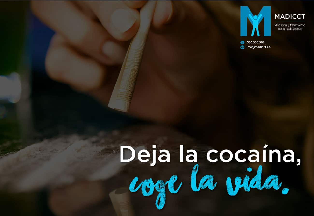Aumenta el consumo de cocaína, y con ello los problemas de adicción